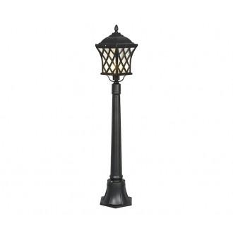 NOWODVORSKI 5294 | Tay Nowodvorski álló lámpa 112cm 1x E27 IP23 fekete, áttetsző