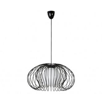 NOWODVORSKI 5296 | Mersey Nowodvorski függeszték lámpa 1x E27 fekete, opál