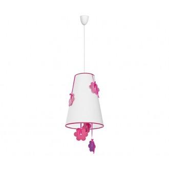 NOWODVORSKI 5302 | Praslin Nowodvorski függeszték lámpa 1x E27 fehér, rózsaszín, lila