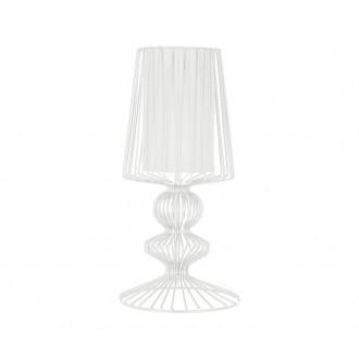 NOWODVORSKI 5410 | Aveiro Nowodvorski asztali lámpa 43cm kapcsoló 1x E27 fehér