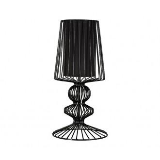 NOWODVORSKI 5411 | Aveiro Nowodvorski asztali lámpa 43cm kapcsoló 1x E27 fekete