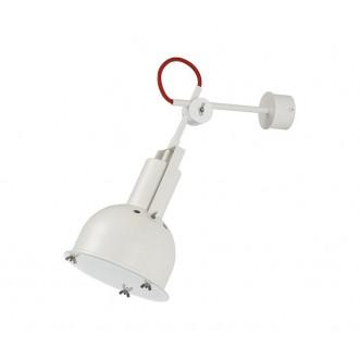 NOWODVORSKI 5524 | Industrial-2 Nowodvorski falikar lámpa elforgatható alkatrészek 1x E27 fehér, piros