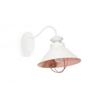 NOWODVORSKI 5554 | Loft Nowodvorski falikar lámpa 1x E27 antik, ekrü, vörösréz