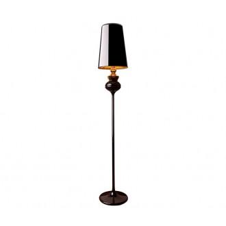 NOWODVORSKI 5755 | Alaska-Black Nowodvorski álló lámpa 175cm kapcsoló 1x E27 fényes fekete