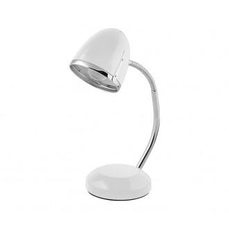 NOWODVORSKI 5794 | Pocatello Nowodvorski asztali lámpa 36cm kapcsoló flexibilis 1x E27 fehér, króm