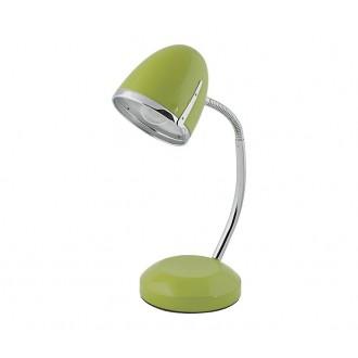 NOWODVORSKI 5796 | Pocatello Nowodvorski asztali lámpa 36cm kapcsoló flexibilis 1x E27 zöld, króm