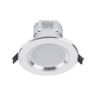 NOWODVORSKI 5954 | Ceiling-LED Nowodvorski beépíthető lámpa Ø100mm 1x LED 300lm 4000K fehér