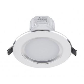 NOWODVORSKI 5955 | Ceiling-LED Nowodvorski beépíthető lámpa Ø110mm 1x LED 500lm 4000K fehér