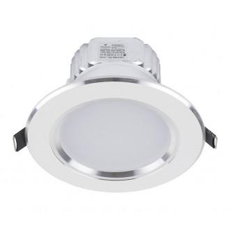 NOWODVORSKI 5956 | Ceiling-LED Nowodvorski beépíthető lámpa Ø120mm 1x LED 700lm 4000K fehér