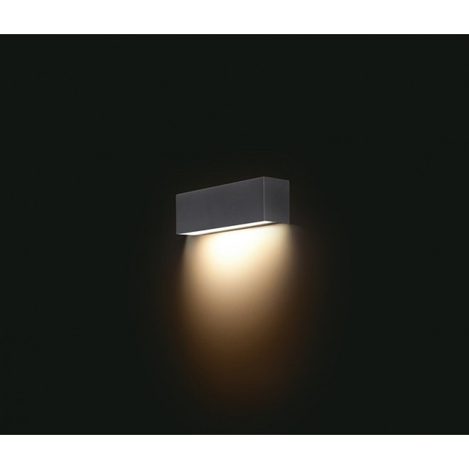 NOWODVORSKI 6350   Straight Nowodvorski fali lámpa 1x E14 grafit