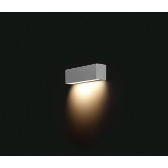 NOWODVORSKI 6354 | Straight Nowodvorski fali lámpa 1x E14 ezüst