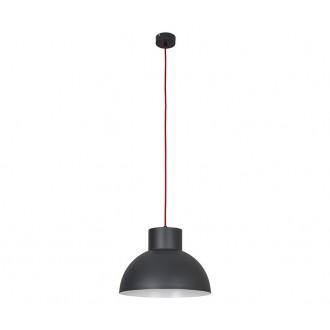 NOWODVORSKI 6511 | Works Nowodvorski függeszték lámpa 1x E27 grafit, piros, fehér
