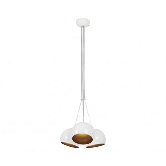 NOWODVORSKI 6603 | Ball Nowodvorski függeszték lámpa 3x GU10 fehér, arany