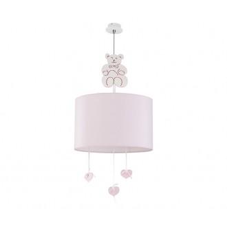 NOWODVORSKI 6615 | Honey Nowodvorski függeszték lámpa 1x E27 rózsaszín, fehér