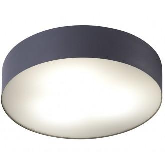 NOWODVORSKI 6725 | Arena Nowodvorski mennyezeti lámpa 3x E14 IP44 grafit, fehér