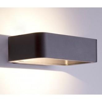 NOWODVORSKI 6776 | Muno Nowodvorski fali lámpa 1x LED 242lm 3000K IP54 fekete