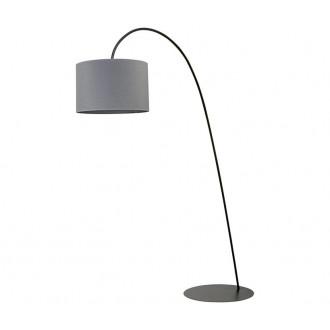 NOWODVORSKI 6818 | AliceN Nowodvorski álló lámpa 205cm kapcsoló 1x E27 fekete, szürke