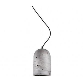 NOWODVORSKI 6855 | Lava Nowodvorski függeszték lámpa 1x E27 szürke, fekete