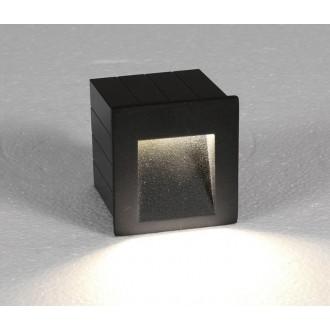 NOWODVORSKI 6907 | Step Nowodvorski beépíthető lámpa 1x LED 310lm 3000K IP44 grafit