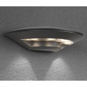NOWODVORSKI 6910 | Disc Nowodvorski fali lámpa 4x LED 350lm 3000K IP44 sötétszürke