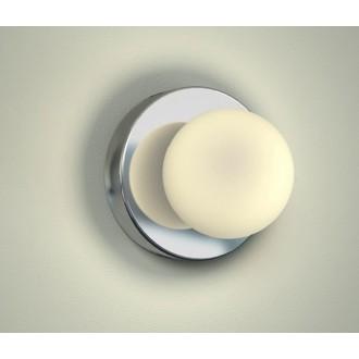 NOWODVORSKI 6948 | BrazosN Nowodvorski fali lámpa 1x G9 IP44 króm, opál