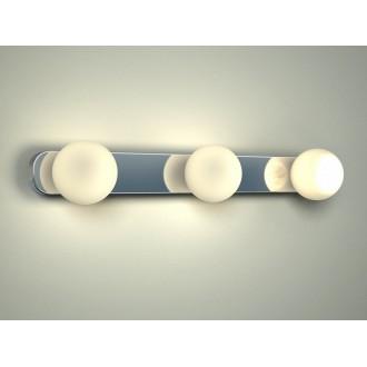 NOWODVORSKI 6951 | BrazosN Nowodvorski fali lámpa 3x G9 IP44 króm, opál