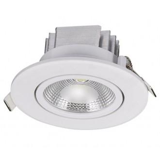 NOWODVORSKI 6971 | Ceiling_COB Nowodvorski beépíthető lámpa billenthető Ø88mm 1x LED 380lm 3000K fehér