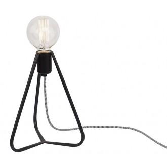 NOWODVORSKI 6975 | SimpleN Nowodvorski asztali lámpa 28cm vezeték kapcsoló 1x E27 fekete