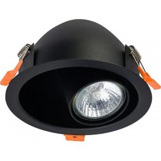 NOWODVORSKI 8826 | Dot Nowodvorski beépíthető lámpa elforgatható fényforrás 1x GU10 fekete