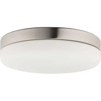 NOWODVORSKI 8828 | Kasai Nowodvorski mennyezeti lámpa mozgásérzékelő 2x E27 nikkel, opál