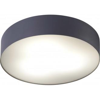NOWODVORSKI 8833 | Arena Nowodvorski mennyezeti lámpa mozgásérzékelő 3x E14 IP44 grafit, fehér
