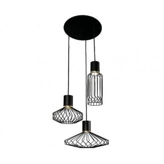 NOWODVORSKI 8863 | Pico-NW Nowodvorski függeszték lámpa 3x GU10 fekete, arany