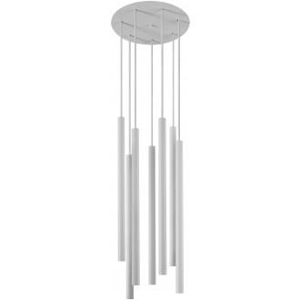 NOWODVORSKI 8918 | Laser Nowodvorski függeszték lámpa 7x G9 fehér