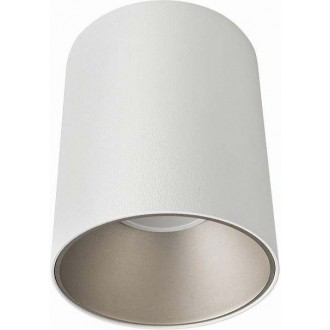 NOWODVORSKI 8928 | Eye-Tone Nowodvorski spot lámpa elforgatható fényforrás 1x GU10 fehér, ezüst