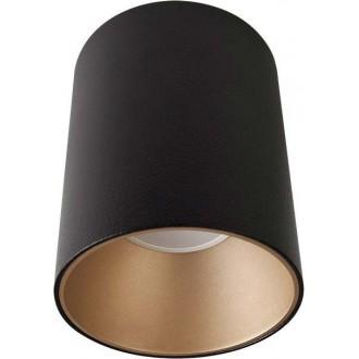 NOWODVORSKI 8931 | Eye-Tone Nowodvorski spot lámpa elforgatható fényforrás 1x GU10 fekete, arany