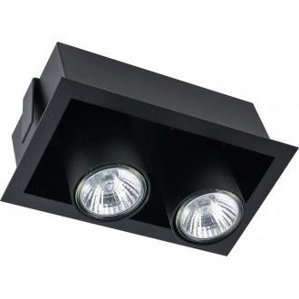NOWODVORSKI 8940 | Eye-Mod Nowodvorski mennyezeti lámpa 2x GU10 fekete