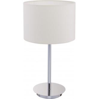 NOWODVORSKI 8982   Hotel Nowodvorski asztali lámpa 43cm vezeték kapcsoló 1x E27 ekrü, króm