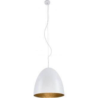 NOWODVORSKI 9021 | Egg Nowodvorski függeszték lámpa 1x E27 fehér, arany