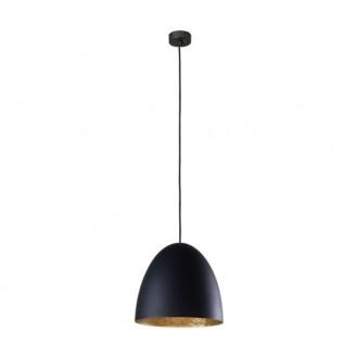 NOWODVORSKI 9022 | Egg Nowodvorski függeszték lámpa 1x E27 fekete, arany