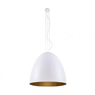 NOWODVORSKI 9023 | Egg Nowodvorski függeszték lámpa 5x E27 fehér, arany