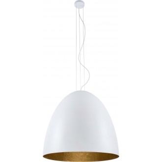 NOWODVORSKI 9025 | Egg Nowodvorski függeszték lámpa 7x E27 fehér, arany