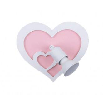 NOWODVORSKI 9062 | Heart-NW Nowodvorski fali lámpa elforgatható alkatrészek 1x GU10 fehér, rózsaszín