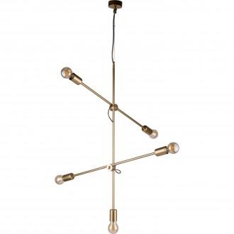 NOWODVORSKI 9076 | Sticks Nowodvorski függeszték lámpa elforgatható alkatrészek 5x E27 arany