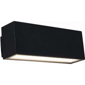 NOWODVORSKI 9122 | Unit-LED Nowodvorski fali lámpa 2x LED 727lm 3000K IP44 fekete