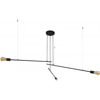 NOWODVORSKI 9128 | Pile Nowodvorski csillár lámpa 3x E27 fekete