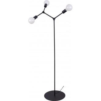NOWODVORSKI 9137 | Twig Nowodvorski álló lámpa 153cm kapcsoló elforgatható alkatrészek 3x E27 fekete
