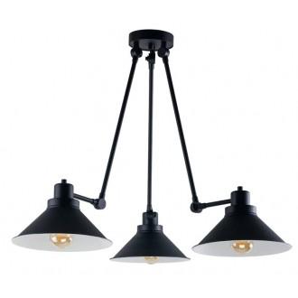 NOWODVORSKI 9142   Techno-NW Nowodvorski csillár lámpa elforgatható alkatrészek 3x E27 fekete, fehér
