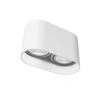 NOWODVORSKI 9241 | OvalN Nowodvorski mennyezeti lámpa 2x GU10 / ES111 fehér