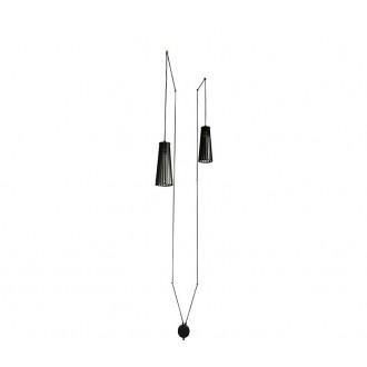NOWODVORSKI 9263   DoverN Nowodvorski függeszték lámpa vezetékkel, villásdugóval elátott 2x GU10 fekete
