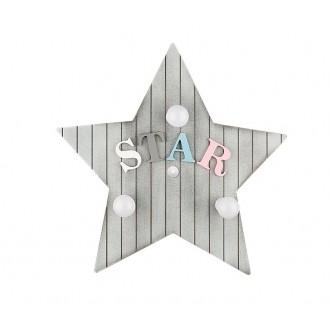 NOWODVORSKI 9293 | Toy-star Nowodvorski fali, mennyezeti lámpa 3x E14 szürke, színes